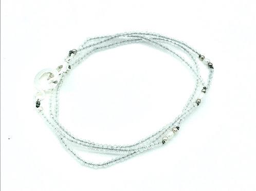 Labradorit Kette /Wickelarmband