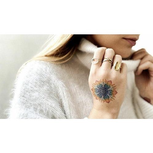 """Mandala """"Dschungel""""  / 5 Stück NonPermanent Tattoo"""
