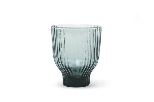 Wasserglas Rauchgrau
