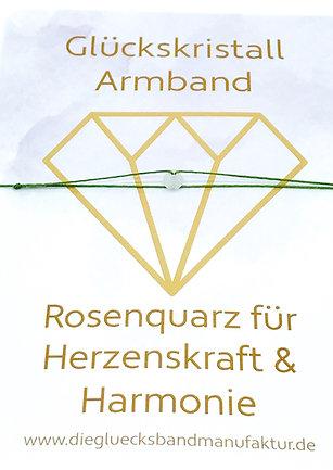 Glückskristall für Herzenskraft & Harmonie