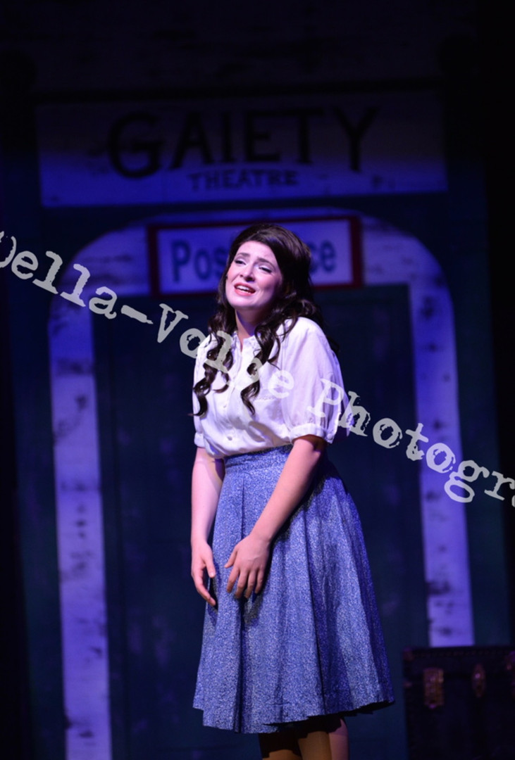 Polly Baker in CRAZY FOR YOU- Candlelight Theatre