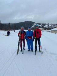 Сборная команда Самарской области по лыжным гонкам в Хакасии