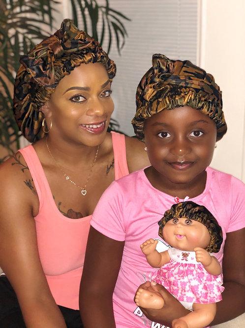 Mommy & Mini Me Satin Crown Set