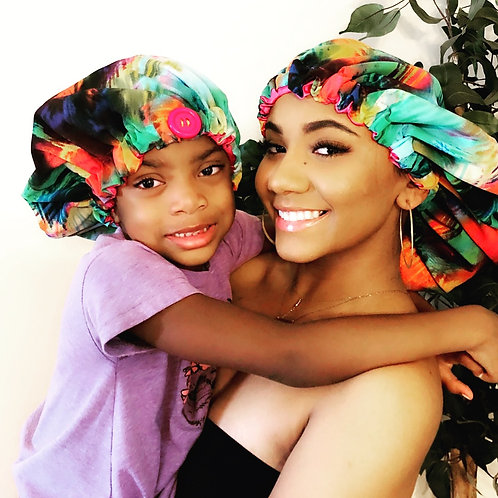 """""""Vibes"""" Mommy and Me Crown Set"""