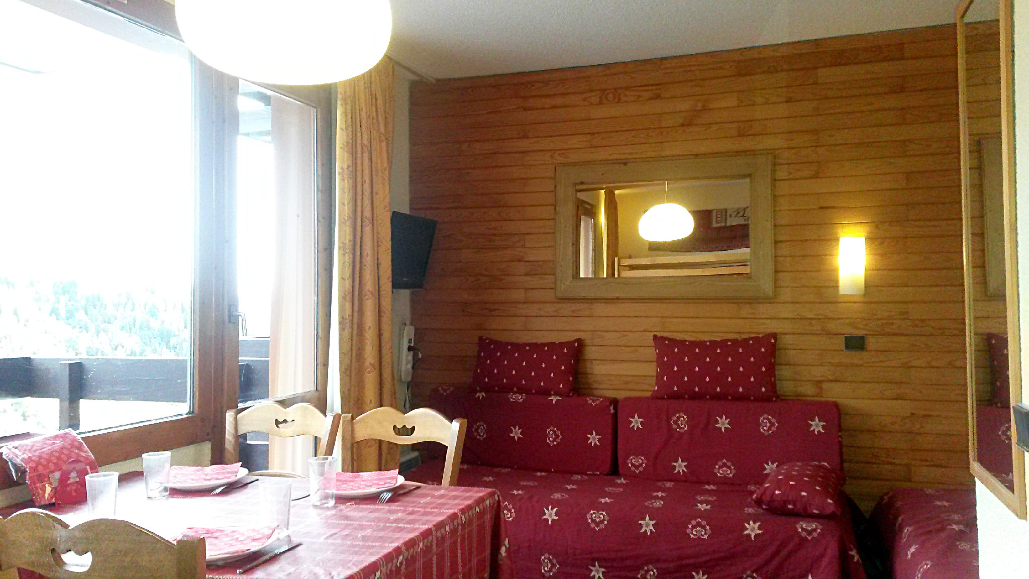 Belle Plagne location studio