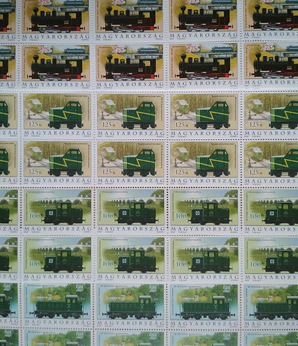 Locomotives - Hungarian Stamp