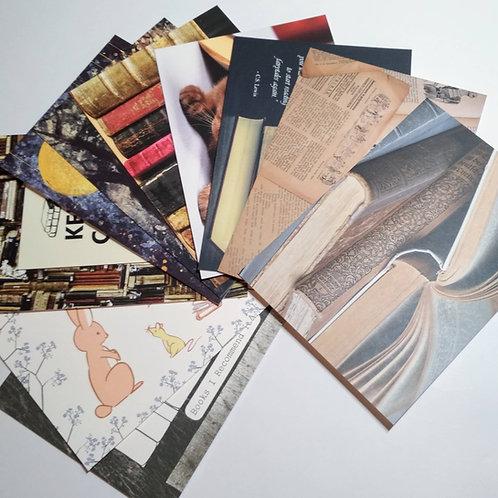 Books (10) - Bundle of 10 postcards