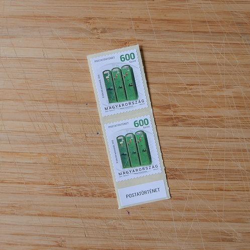 Postal History - 600 HUF Stamp