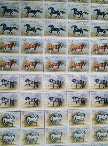Hungarian Horses - Stamps