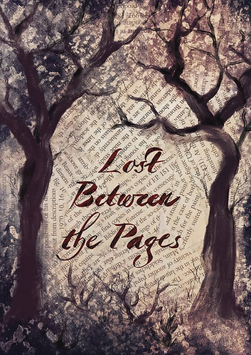 Lost Between the Pages - Postcard