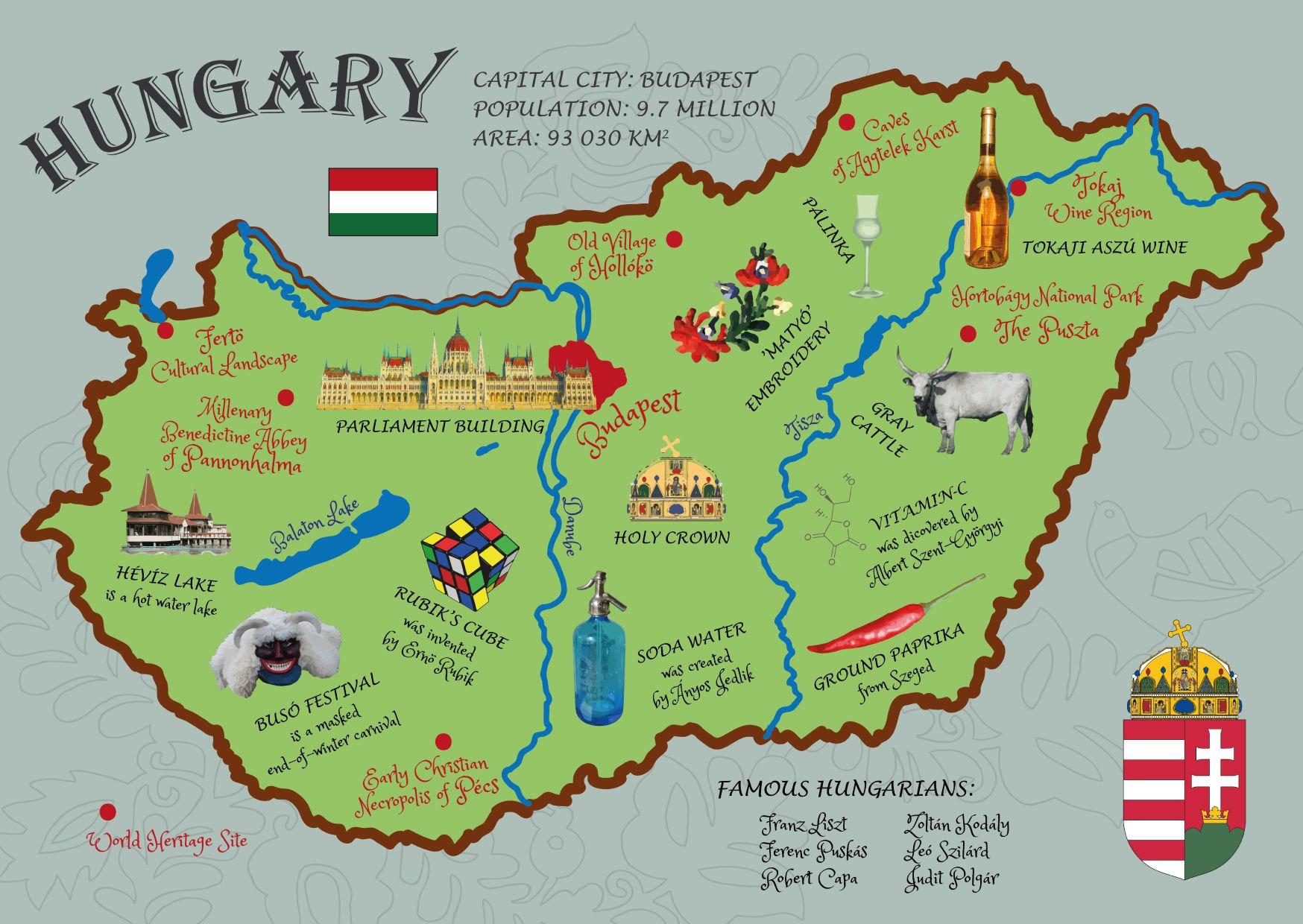 Αποτέλεσμα εικόνας για MAP OF HUNGARY