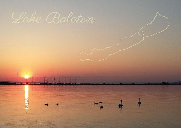 Balaton - képeslap