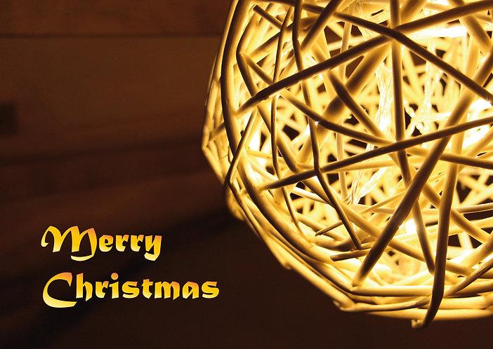 Christmas Light - Postcard