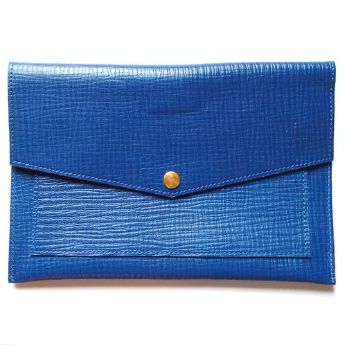 Leather Folder - Brigi Blue