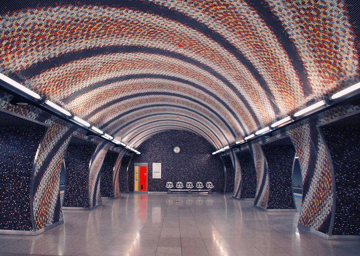 Subway - Postcard