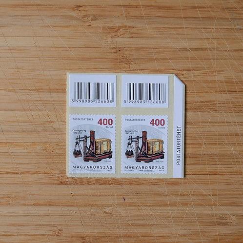 Postal History - 400 HUF Stamp