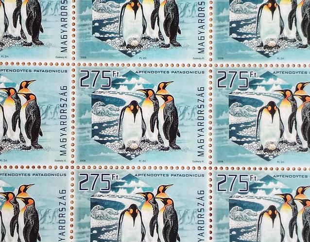 Penguins - Stamp