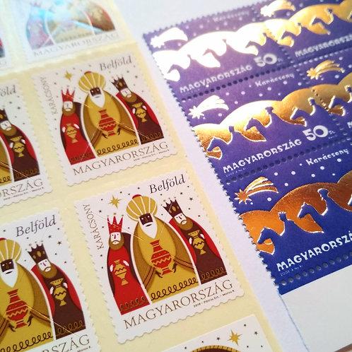 Karácsonyi bélyegek (több lehetőség)