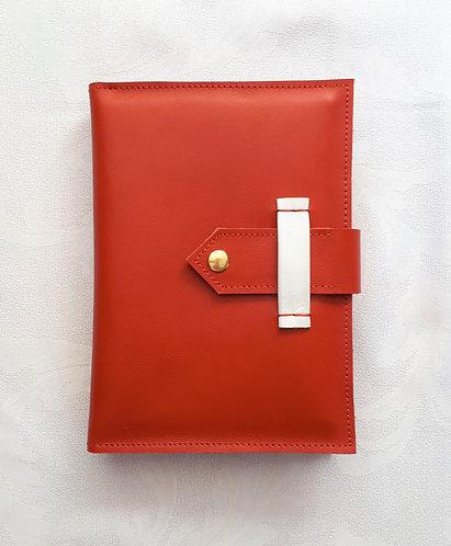 Leather Postcard Folder - Reni
