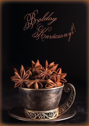Boldog karácsonyt - képeslap
