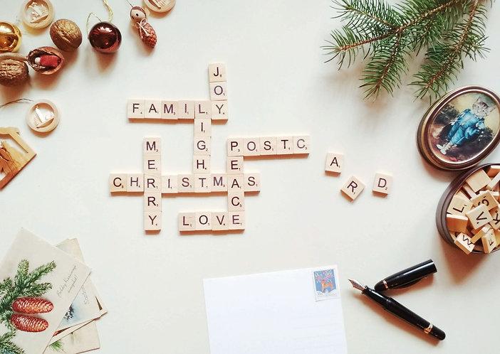 Christmas game - Postcard