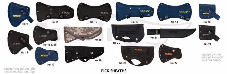 Protection des personnes; protection des outils; étuis et housses pour outils Estwing