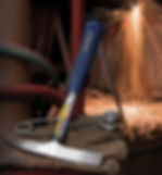 Marteau de soudeur, marteau à piquer, marteau à ravaler