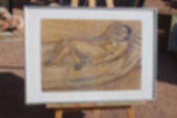 Un tableau de maitre en vente aux puces de Genève