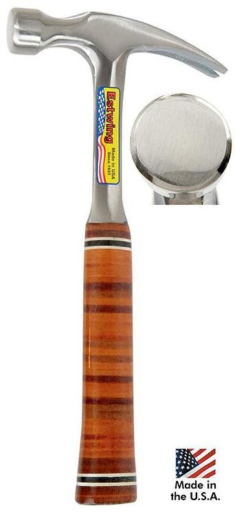 Marteau Estwing E20S de menuisier manche cuir, poids 745g, longueur 345mm