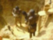 Un bain d'or au Mali