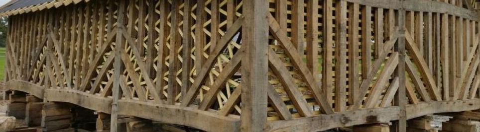 Charpente faite par un charpentier