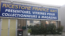 Devanture de Ricestone-France à St Genis Pouilly