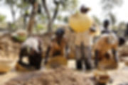 Exploitation artisanale d'or au Mali