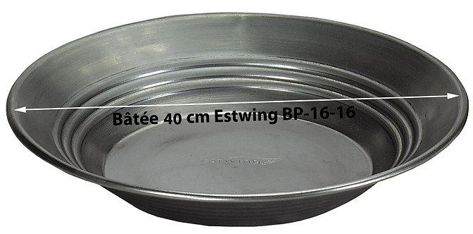 Batée estwing métal BP16-16 de 40 cm