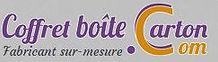 """logo """"fabricant-coffret-boite-carton"""""""