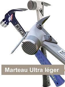 Marteau de charpentier Ultra léger Estwing