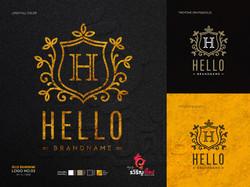 ออกแบบโลโก้ Hello Brandname