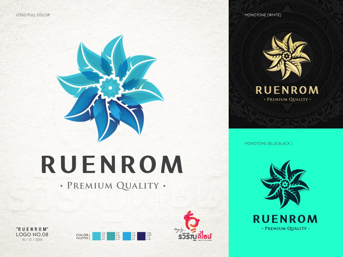 ออกแบบโลโก้ Ruenrom