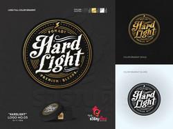 """ออกแบบโลโก้ """"HARDLIGHT"""""""