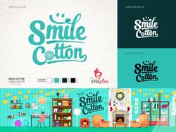 ออกแบบโลโก้ Smile-Cotton