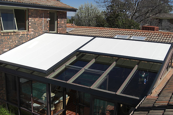 Airomatic Retractable Skylight Cover