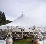Tent in tuin