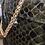Thumbnail: Sac kaki cuir croco SILVIA