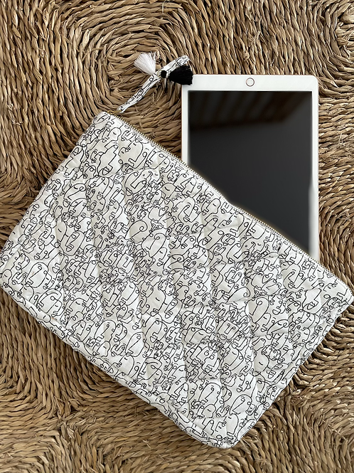 Pochette PARIS - pochette ordinateur / iPad