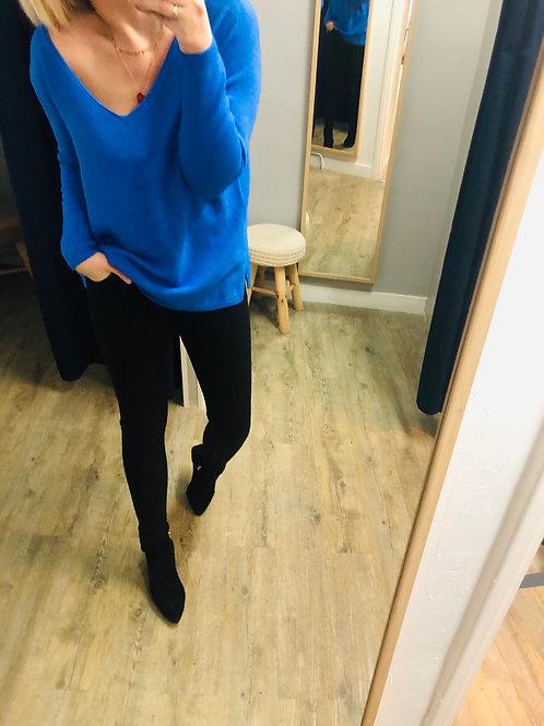 Pull LILI bleu