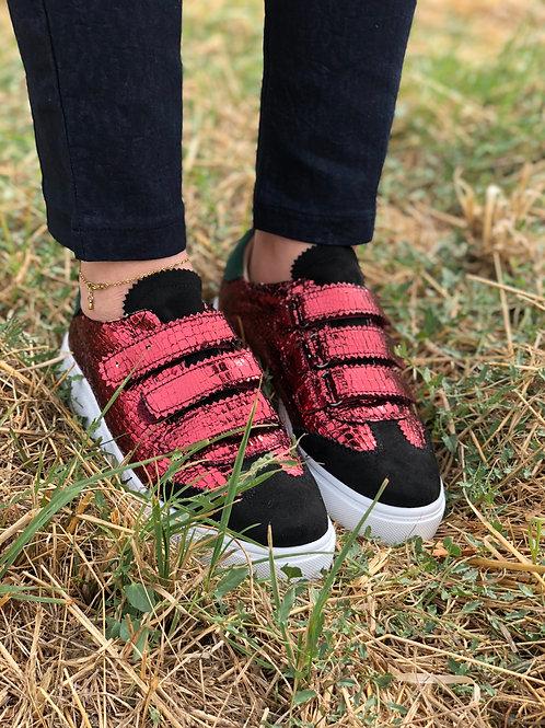 Sneakers rouge VANESSA WU