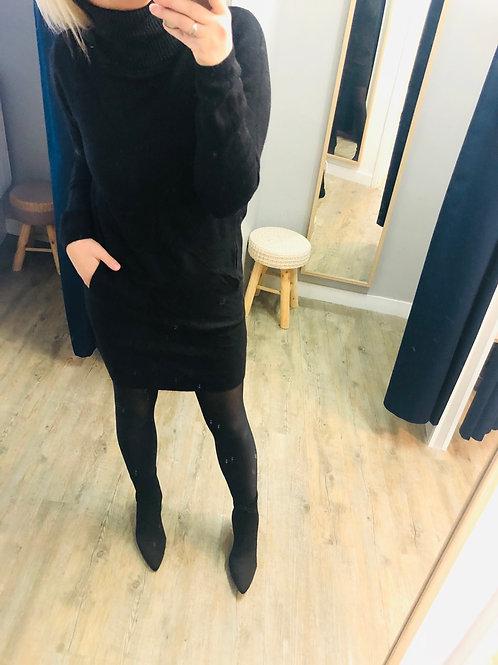 Robe pull LANA noir