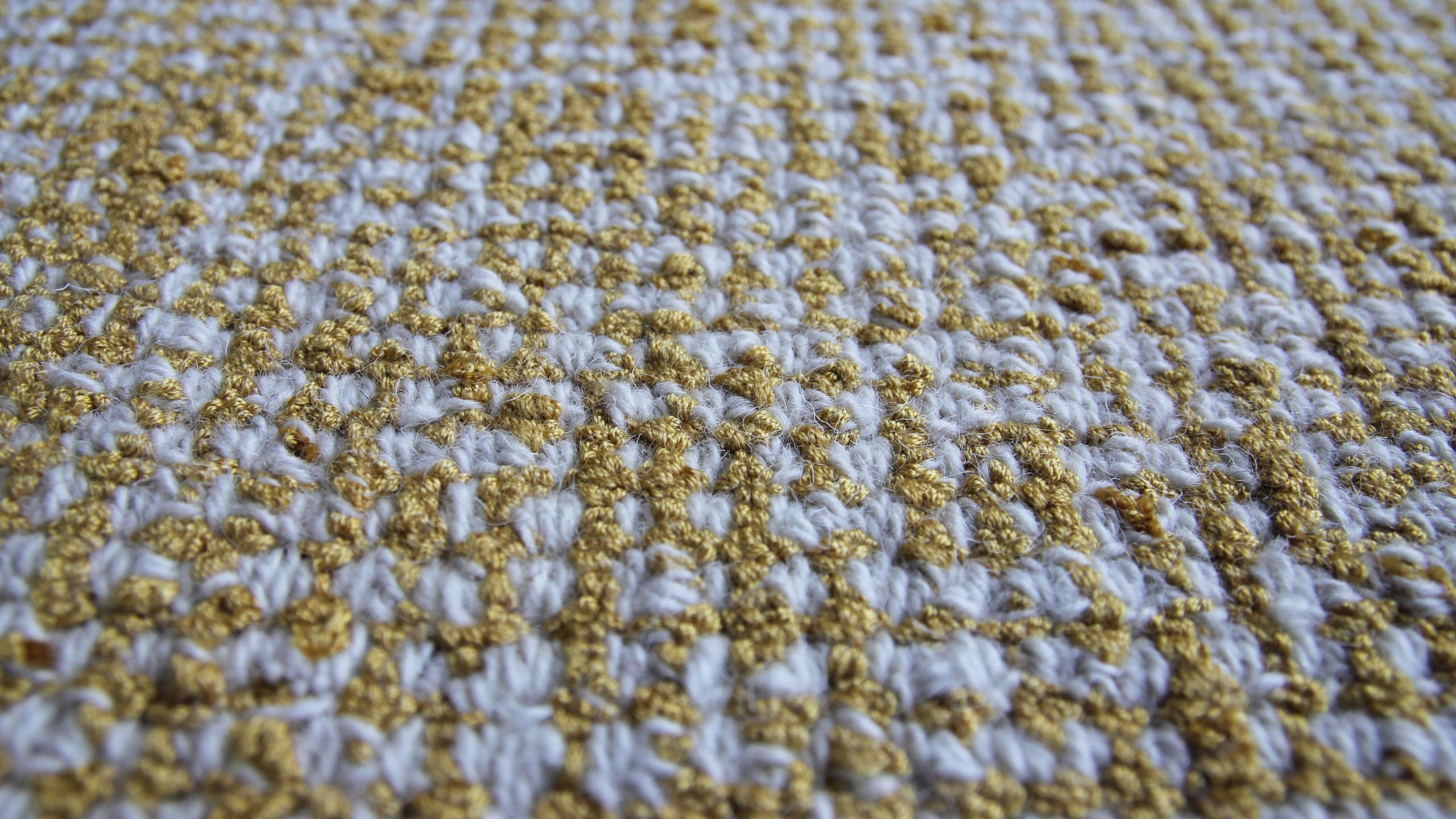 Loops en laine et viscose bicolor
