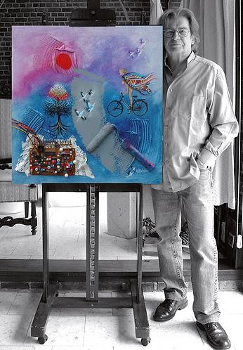 L'artiste Philippe Waxweiler