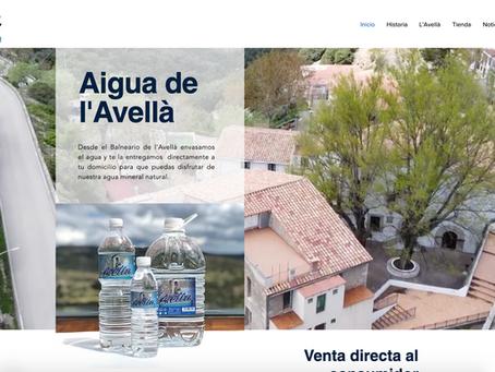 Aigua de l'Avellà estrena nuevo sistema de venta